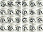 Pandora 925 Silver VINTAGE LETTERS Initial Character Alphabet Charm Bead
