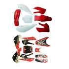 Body Plastic Fairing Sticker Kit for Kawasaki KLX 110 KX 65 Suzuki DRZ 110 RM65