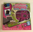 Cell Phone Charms Bling Craft Kit NIB Gems Sparkle Stickers NEW Go Girl