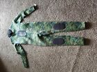 RIFFE CRYPTIC CAMO STEAMER GREEN WETSUIT 15MM LARGE