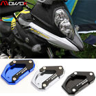 For SUZUKI V-Strom Vstrom 650 DL Kickstand Extension Plate Side Stand Enlarge