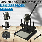 200X140mm Manual Leather Cutting Machine Die Cut  Leather Embossing Machines