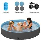 Dog Pool Foldable Pet Bath Pool for Pet Kiddie Bathing Swimming Tub Kiddie Pool