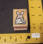 All Night Media Rubber Stamp BIG BUNNY Rabbit Easter Animal 363D not big stamp