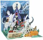Happy Halloween Greeting Card 3D Pop Up Haloween Dogs Treasures Up With Paper