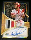 2019 Topps Series 2 Barry Larkin Reverence Autograph Patch card 01 10 Reds