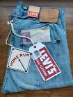 Size 27 LEVIS 1890 VINTAGE CLOTHING 501xx SELVEDGE JEANS BLUE Buckle Back NWT