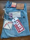 Size 28 LEVIS 1890 VINTAGE CLOTHING 501xx SELVEDGE JEANS BLUE Buckle Back NWT