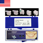 Usa Dental Orthodontic 3m Type Ceramic Brackets Roth 022 345 Hooks Size Marked