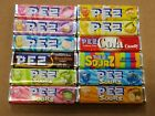 12 PACKS PEZ CANDY REFILLS ALL DIFFERENT HARD TO FIND FLAVORS