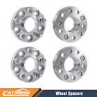 4PCS 1 Inch 25MM Hub Centric Wheel Spacers 5x1143 12X125 for Infiniti Nissan
