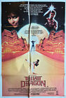 The Last Dragon Original Cinema Release 1 One Sheet Vintage Movie Poster
