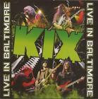 Kix - Live In Baltimore  CD/DVD   RARE (AC/DC, Krokus)