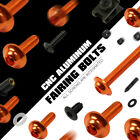 Motor Orange aluminum Fairing Bolts For KTM 690 Duke 690 Enduro R690 SMC 2014-15