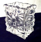 Rosenthal Studio Line Crystal Glass Bag Vase Germany Signed