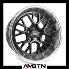 ESR CS11 18x95 5x1143 +35 GRAPHITE WHEELS SET4 FIT WRX TC VELOSTER HYUNDAI