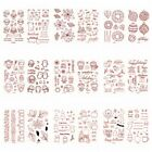 Halloween Christmas Transparent Clear Silicone Stamp Seals for DIY Scrapbooking