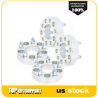 4X 15 5x45 705 mm silver wheel spacers 1 2 for Ford Mustang Jeep Liberty