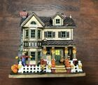 Lemax Village Harvest Crossing Fall Comes Home 2005 Lighted Building 55211
