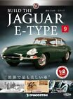 DeAGOSTINI Weekly Build THE JAGUAR E-TYPE 1/8 die cast model Vol.9 from japan