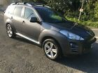 2008 PEUGEOT 4007 GT 22 HDI CROSSOVER TURBO DIESEL 7 SEATER STARTS AND DRIVES