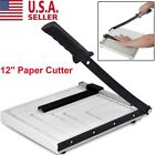 A4 To B7 Paper Cutter Metal Base Guillotine Page Trimmer Blade Scrap Booking 12