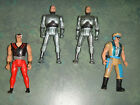 ROBO COP LOT OF 4 ACTION FIGURES ROBO COP HEADHUNTER