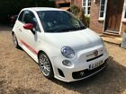 2013 13 FIAT ABARTH 500 14 16V T JET MANUAL FSH ONLY 47K MILES  6 MTHS WTY