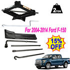 For 04 14 Ford F 150 Scissor Jack+Spare Tire Tool Lug Wrench Extension Kit w Bag