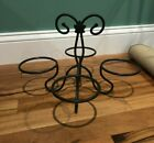 LONGABERGER - Wrought Iron Basket Organizer Hanging Set - Holds 4