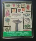Stampendous Foam mounted Rubber Stamp Set Flower Garden NEW UNINKED