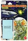 Battlestar Galactica OVION rare Package Backing without the figure or blister