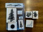 Lot of Stampin Up Wooden Mounted Stamps scrapbooking crafts 5 sets