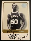 David Robinson 2001 Fleer Greats Of The Game SSP On-Card Auto Inscription!