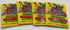 1980 Topps Weird Wheels Stickers Lot of 4 Unopened Packs