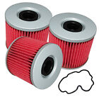 for Suzuki GSX400 GSX-400 Impulse 400 1980-1990 Oil Filter 3-Pack