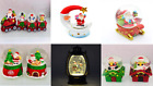 Novelty Santa Christmas Snow Globe Nativity Xmas Home Decor Decorations Gifts
