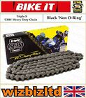 Kymco 125 Stryker (On Road) 1999-2003 [Triple S Black CHH] [Non O-Ring Chain]