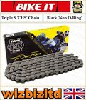 Kymco 125 Stryker (On Road) 1999-2003 [Triple S Black CHS] [Non O-Ring Chain]