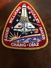 STS 34 SPACE SHUTTLE ATLANTIS MISSION RED  GOLD PATCH