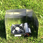 Foldable 10 Plates Camping Cooking Gas Stove Wind Shield Screen Outdoor Cooking