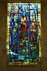 + Beautiful Large Stained Glass Church Window + 16 6 ht 2 of 10 chalice co