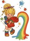 Clear WATER SLIDE DECALS RAINBOW BRITE Decal For Tumblers Crafts Hobbies