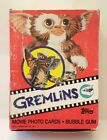 1984 Topps GREMLINS movie trading cards FULL WAX BOX 36 Sealed Packs Bazooka Gum