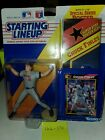 1992 Starting Lineup Chuck Finley California Angels Action Figure Card