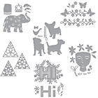 Letter Flower Animal Metal Cutting Dies Stencils For Card Suit Paper Cards Craft