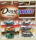 HOT WHEELS POP CULTURE 164 2013 MARS CANDY LOT OF 6  NEW IN PACKAGE HW1