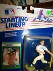 1989 MARK McGWIRE Starting Lineup figure - Oakland A's - w/protective dome