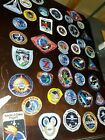 NASA PATCHES LOT of 25 Space Program ShuttleMissionapolloColumbia unfinished