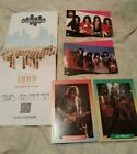 KISS 2 Proset cards Ace FREHLEY brockum cards  ticket stub FREE SHIPPING